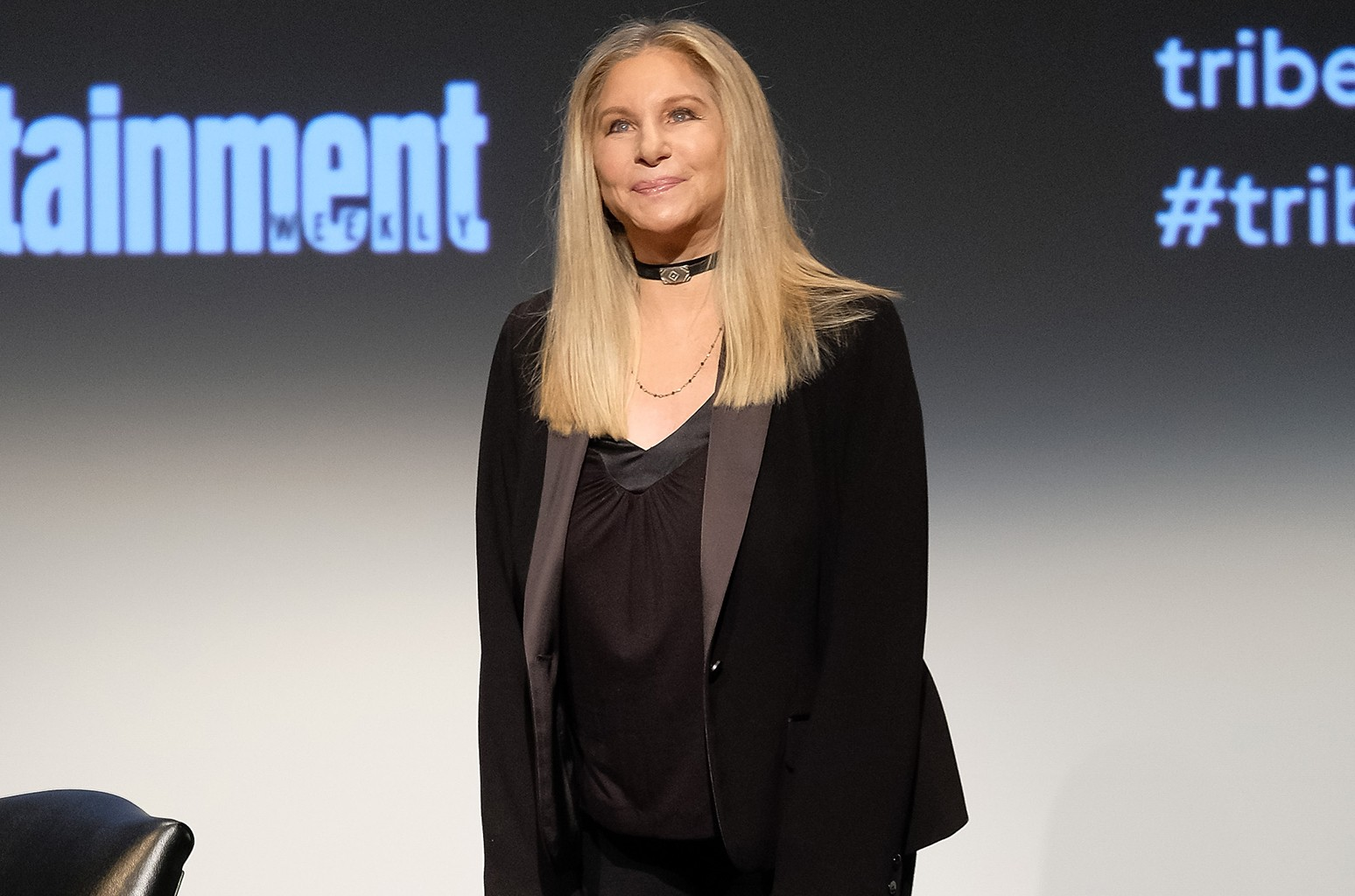 Barbra Streisand attends Tribeca Talks: Barbra Streisand with Robert Rodriguez during the 2017 Tribeca Film Festival at BMCC Tribeca PAC on April 29, 2017 in New York City.
