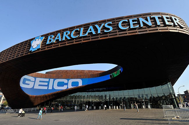 Barclays Center, 2012.