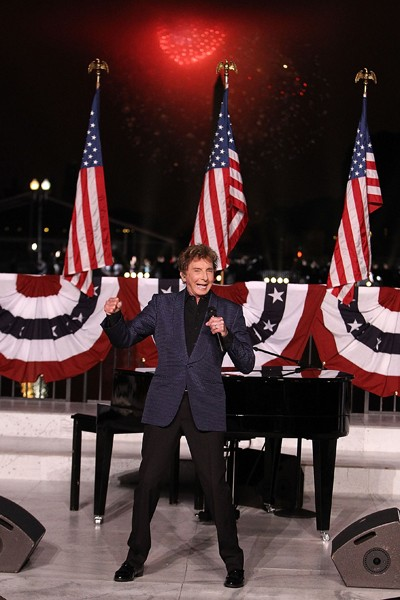 Barry Manilow performs at A Capitol Fourth 2015 Independence Day concert