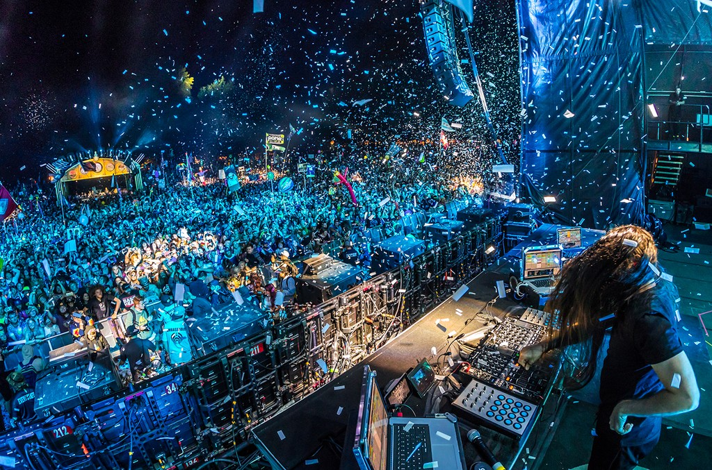 Bassnectar performs at Electric Forest Festival