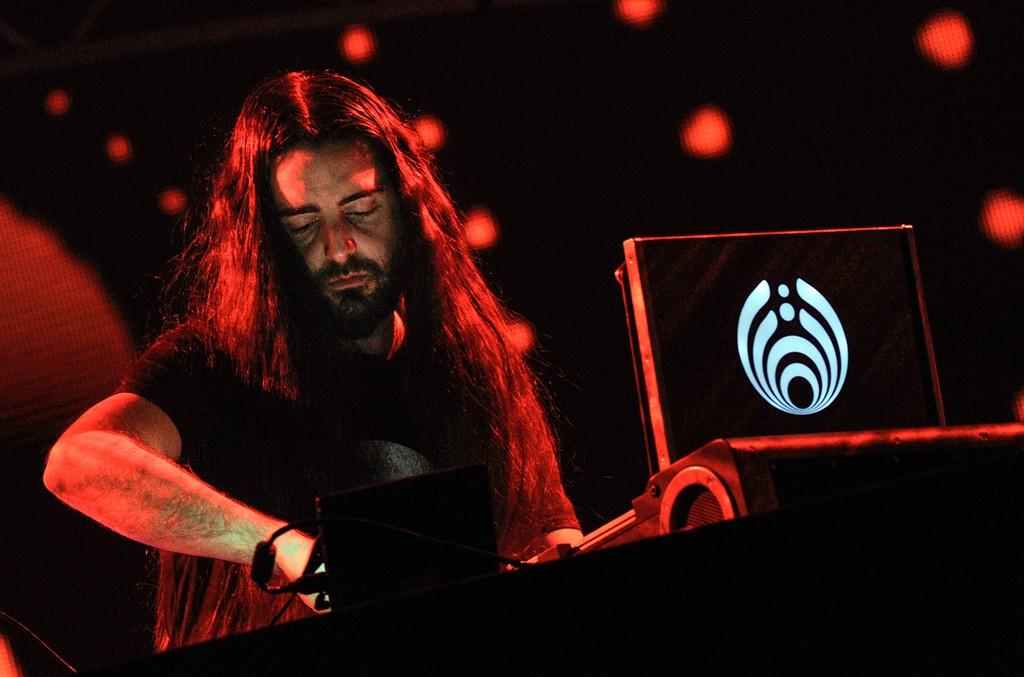 Bassnectar performs during the 2016 Electric Zoo Festival at Randall's Island on Sept. 2, 2016 in New York City.