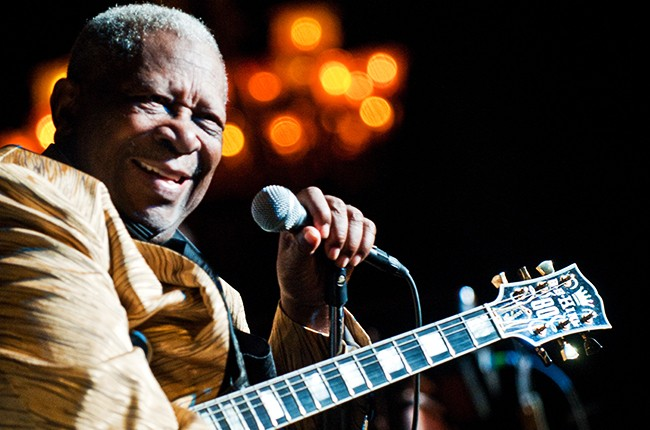 BB King performs a sold out New Year's Day show at the Birchmere 2010