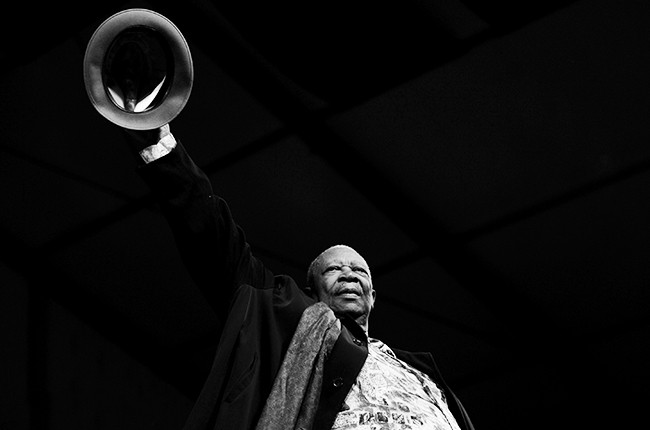BB King at the New Orleans Jazz and Heritage Festival on May 2nd, 2010