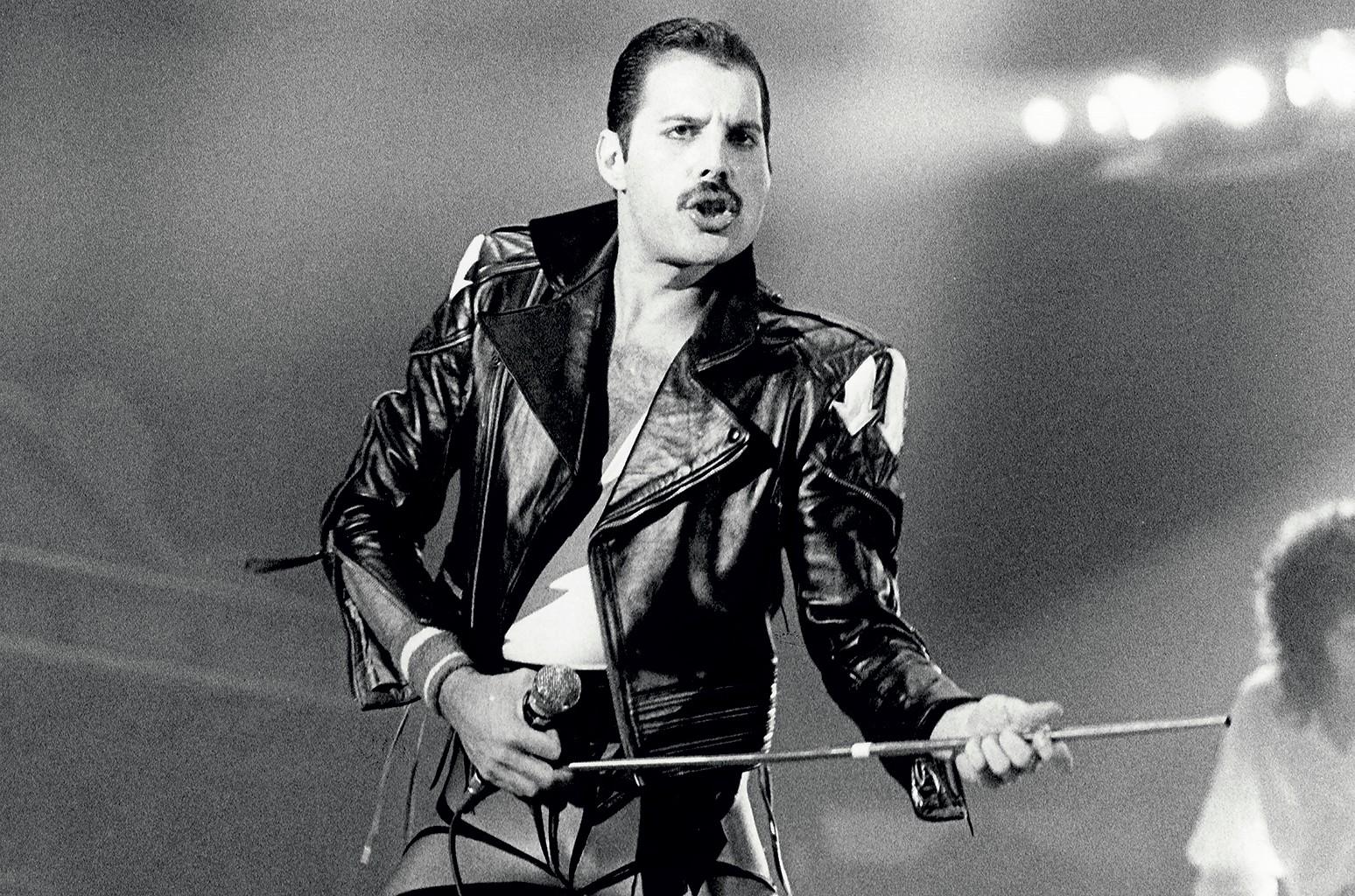 Freddie Mercury in 1984.