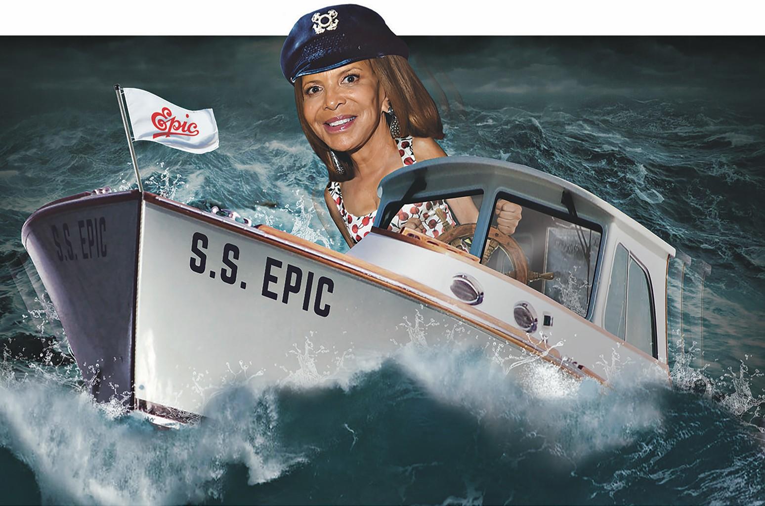 Sylvia Rhone of Epic Records