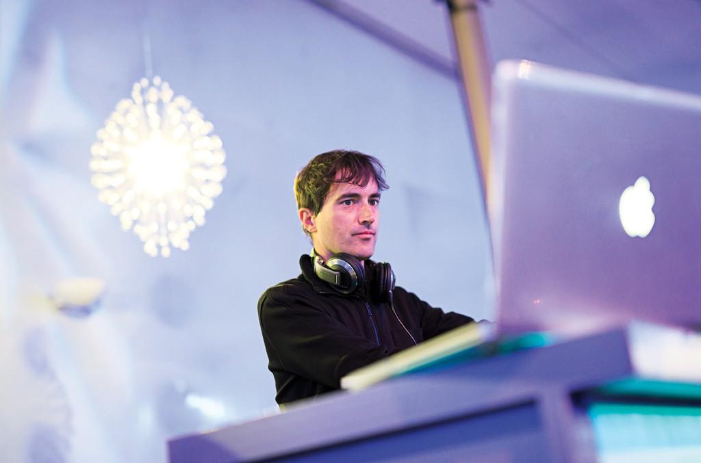 Composer-DJ, Mason Bates
