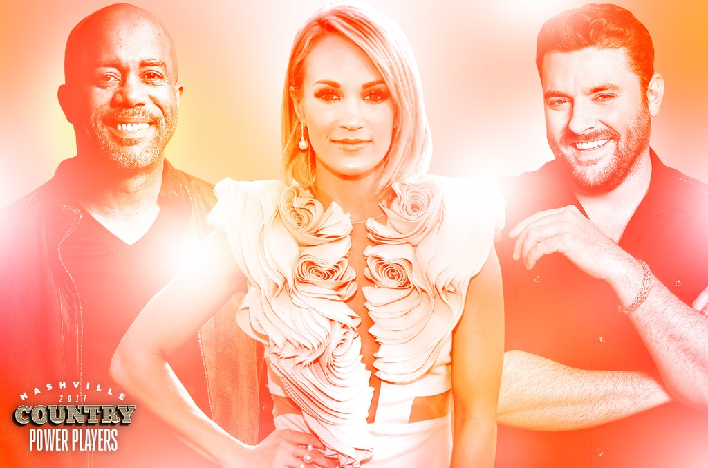 Darius Rucker, Carrie Underwood & Chris Young