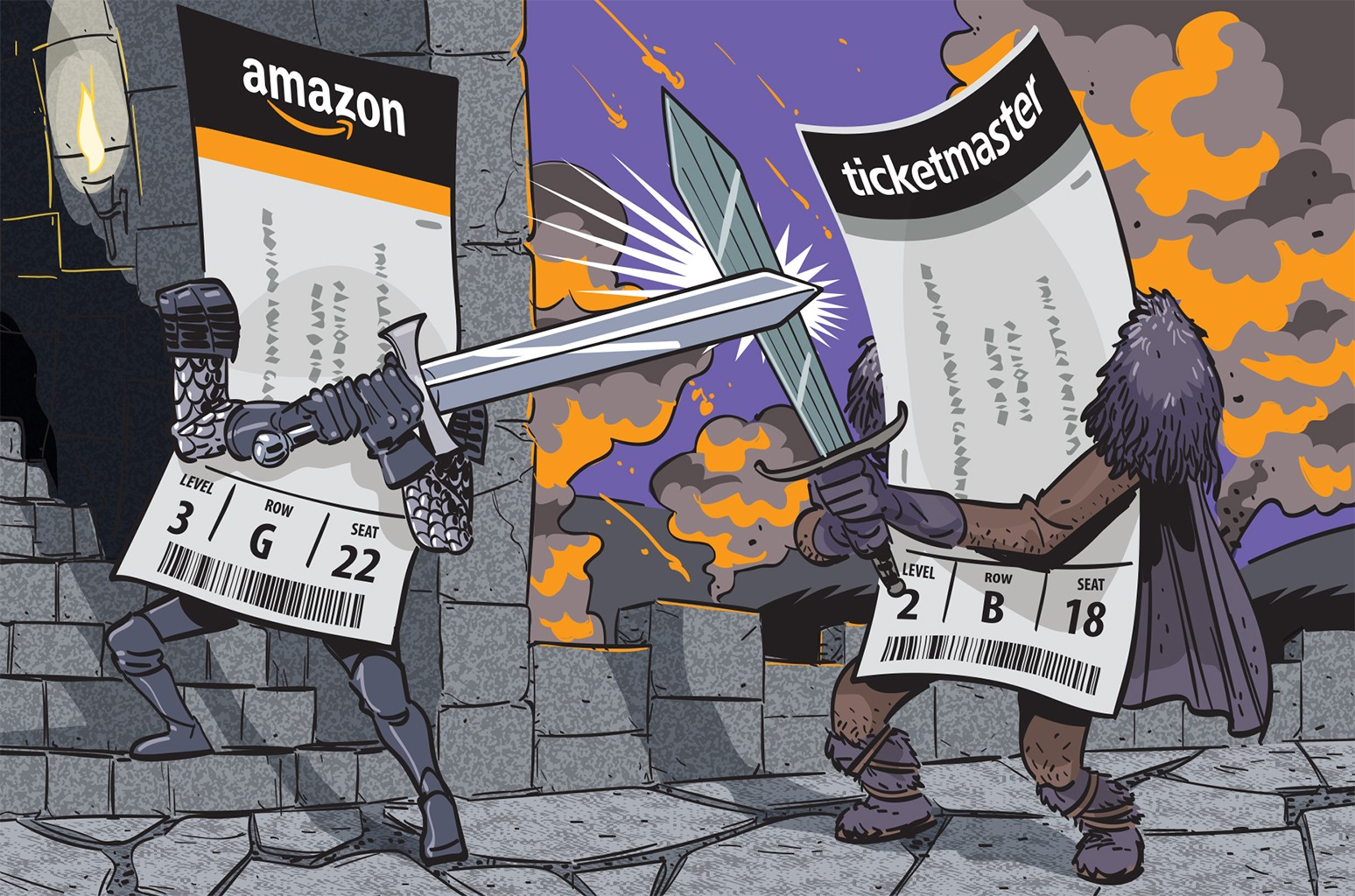 Amazon vs Ticketmaster
