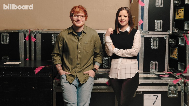 <p>Sheeran&nbsp&#x3B;and Winter-Banks photographed on Sept. 15, 2017 at Allstate Arena in Rosemont, Ill.</p>