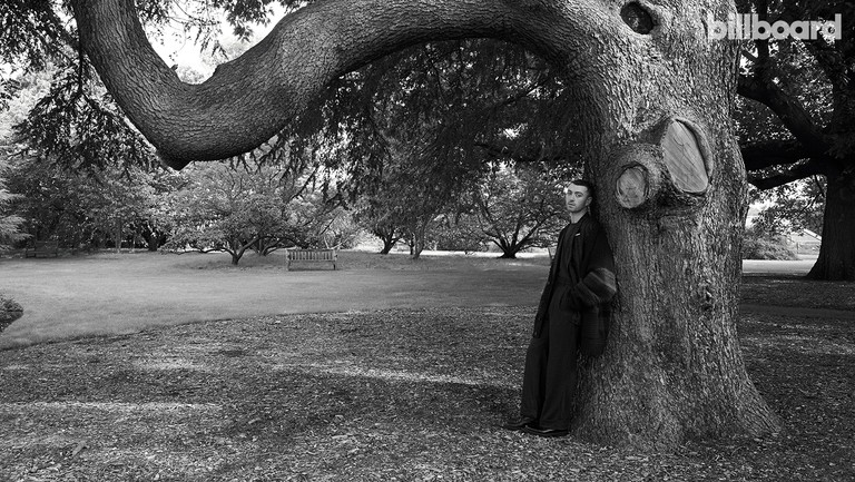 <p>Smith photographed on Sept. 7, 2017 at Royal Botanic Gardens, Kew in London. Styling by Charlie&nbsp&#x3B;Casely-Hayford. Smith wears an Etudes cardigan, Cerruti 1881 jacket and pants, and Dries Van Noten shoes.</p>