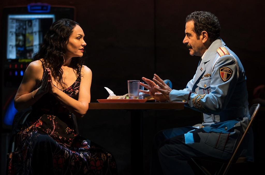 Katrina Lenk & Tony Shalhoub