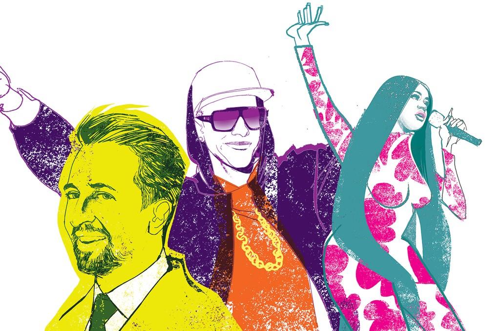 Lin-Manuel Miranda, Daddy Yankee & Cardi B