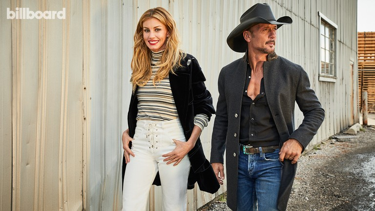 <p>Hill and McGraw photographed on Sept. 28, 2017 at Studio Elevn in Salt Lake City. Styling by Petra Flannery.&nbsp&#x3B;Hill wears a Chloe sweater and jeans, Tom Ford coat, Lana Jewelry earrings and David Yurman ring. McGraw wears a Saint Laurent shirt, John Varvatos coat and J Brand jeans.&nbsp&#x3B;</p>