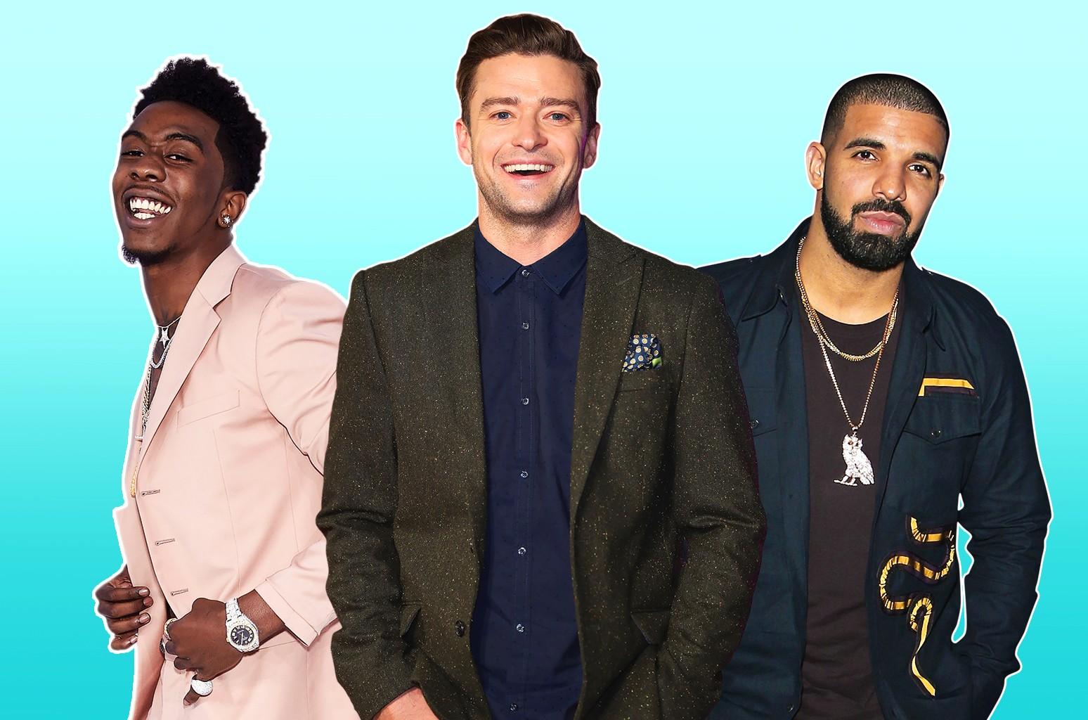 Desiigner, Justin Timberlake & Drake
