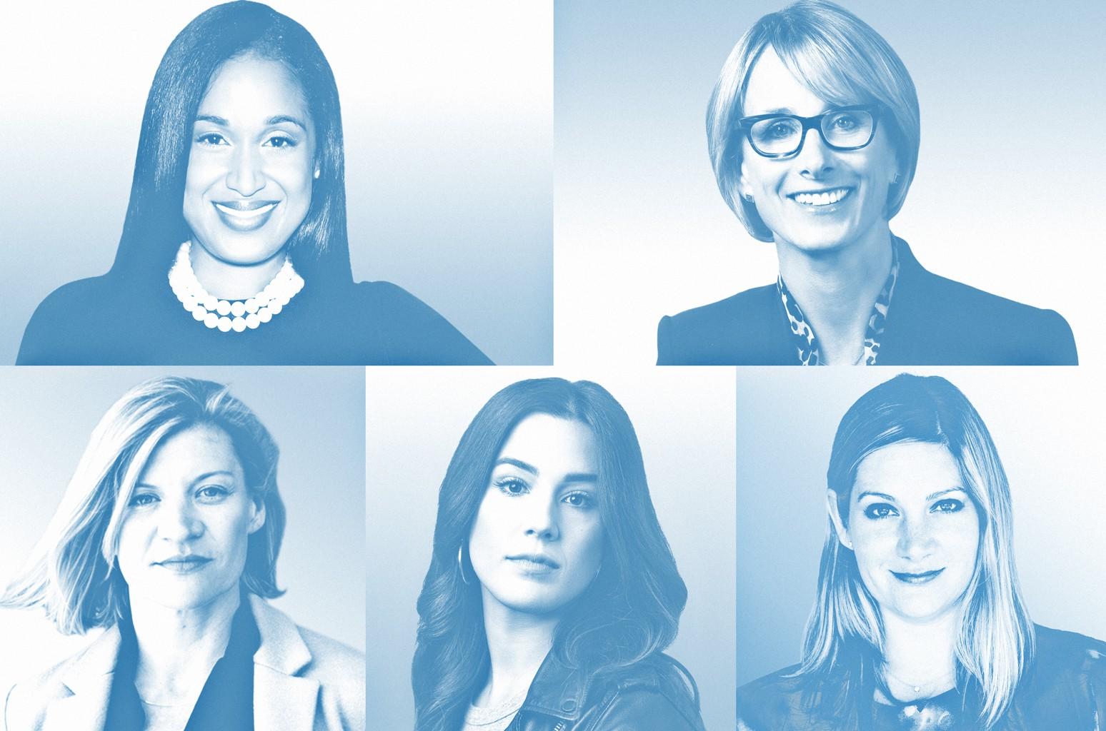 Traci Adams, Lisa Licht, Erika Savage, Nicole Nolletti & Danielle Madeira