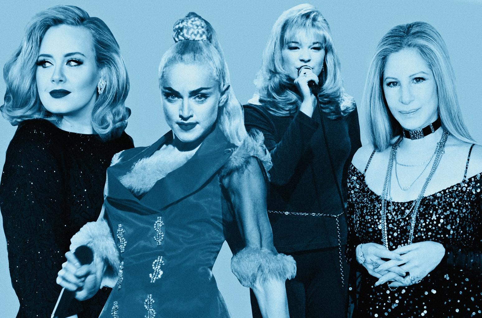 Adele, Madonna, LeAnn Rimes & Barbra Streisand