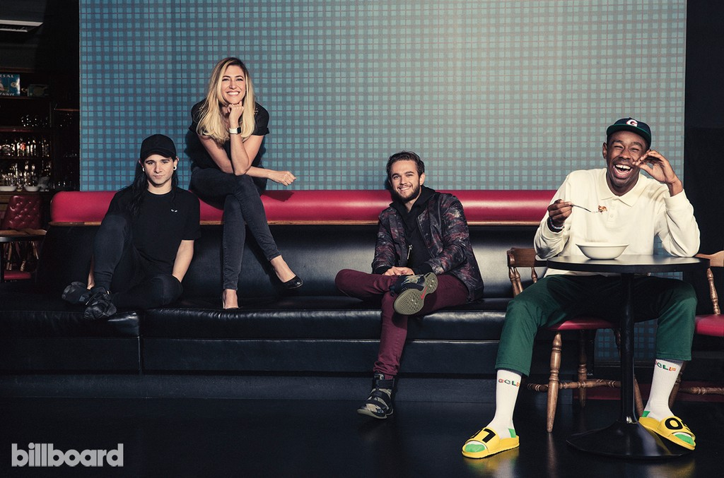 Zedd, Lesley Olenik Galindo, Skrillex & Tyler, The Creator