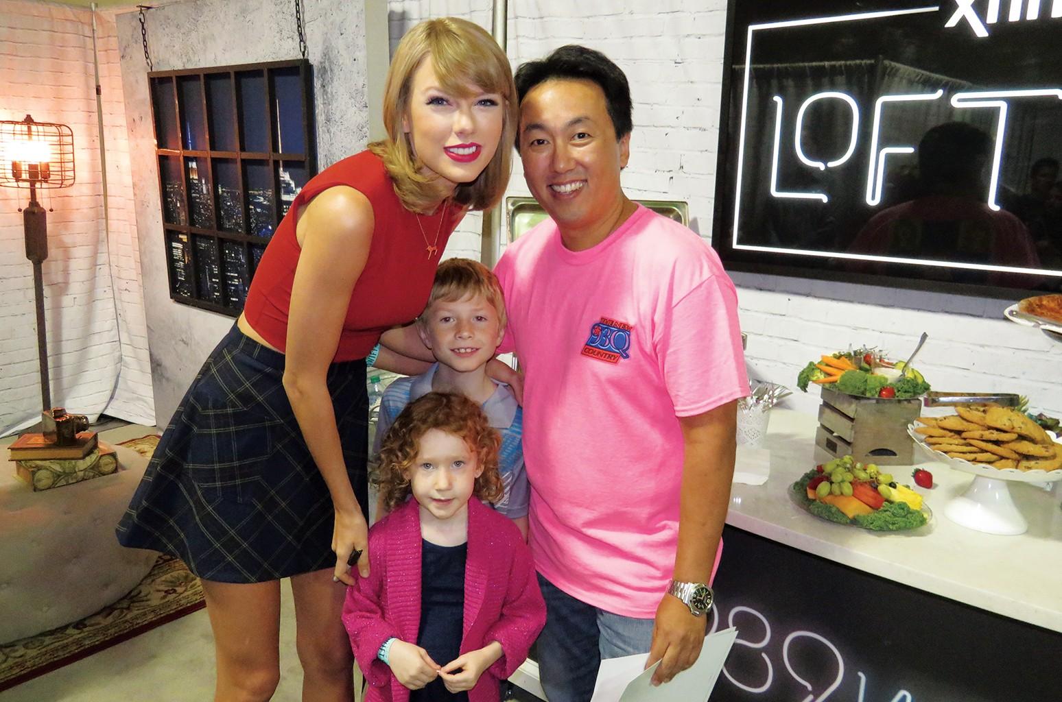 Taylor Swift & Johnny Chiang