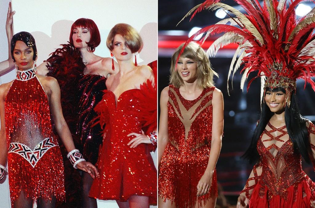 Bob Mackie Ready to Wear 1991, Taylor Swift & Nicki Minaj