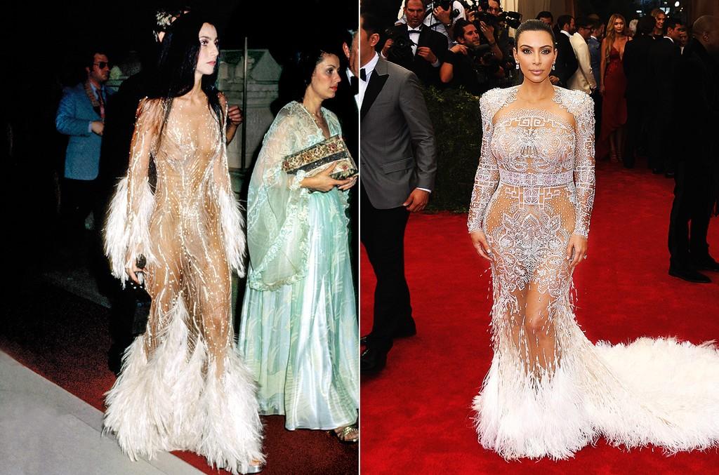 Cher & Kim Kardashian West