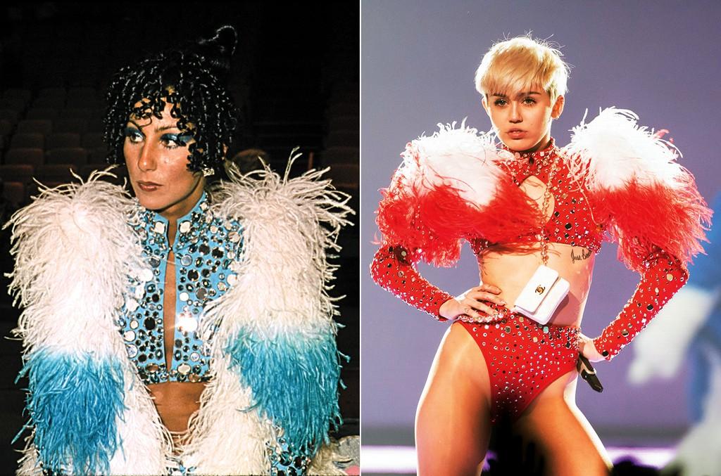 Cher & Miley Cyrus