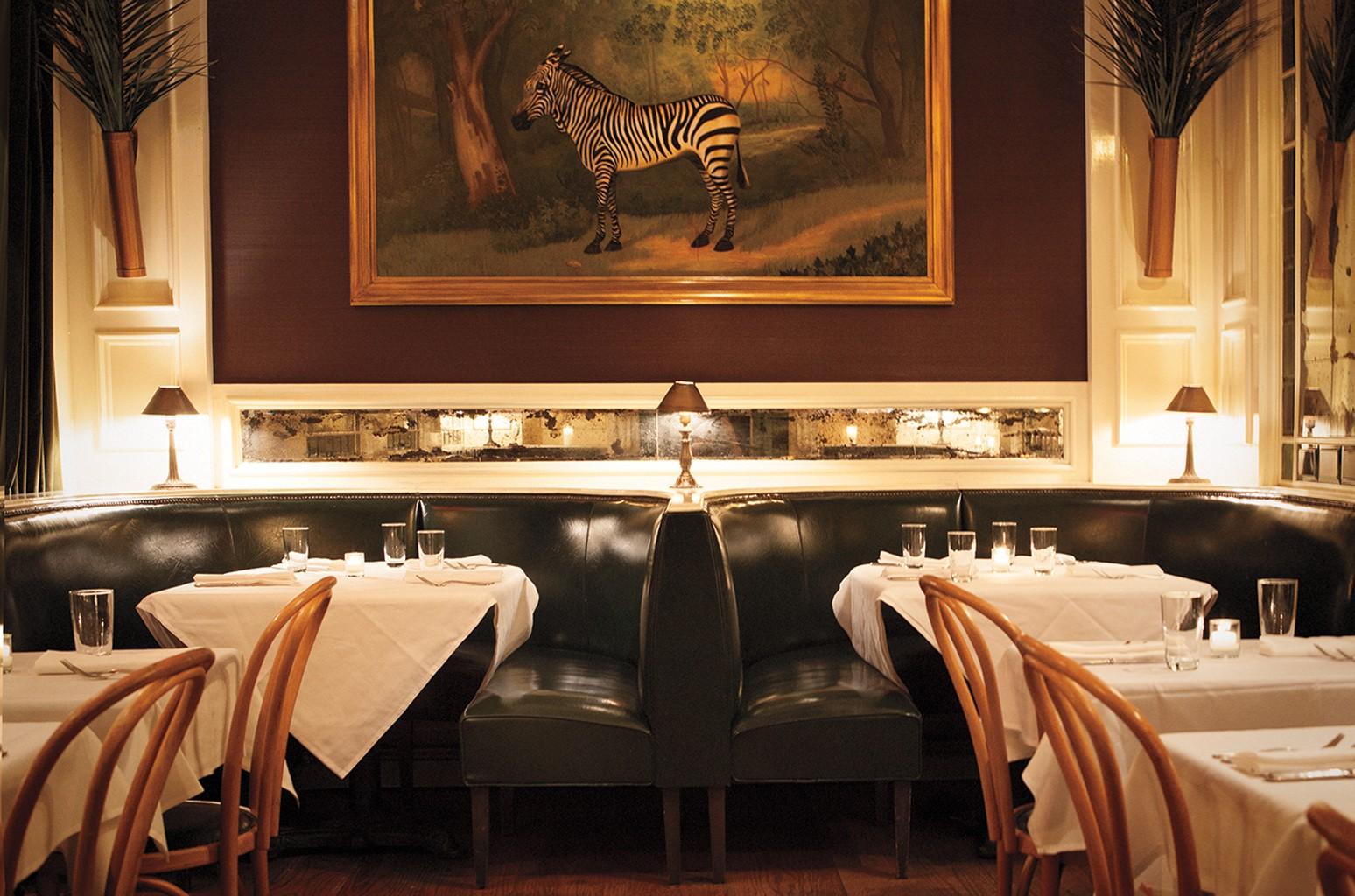 The Beatrice Inn in New York.