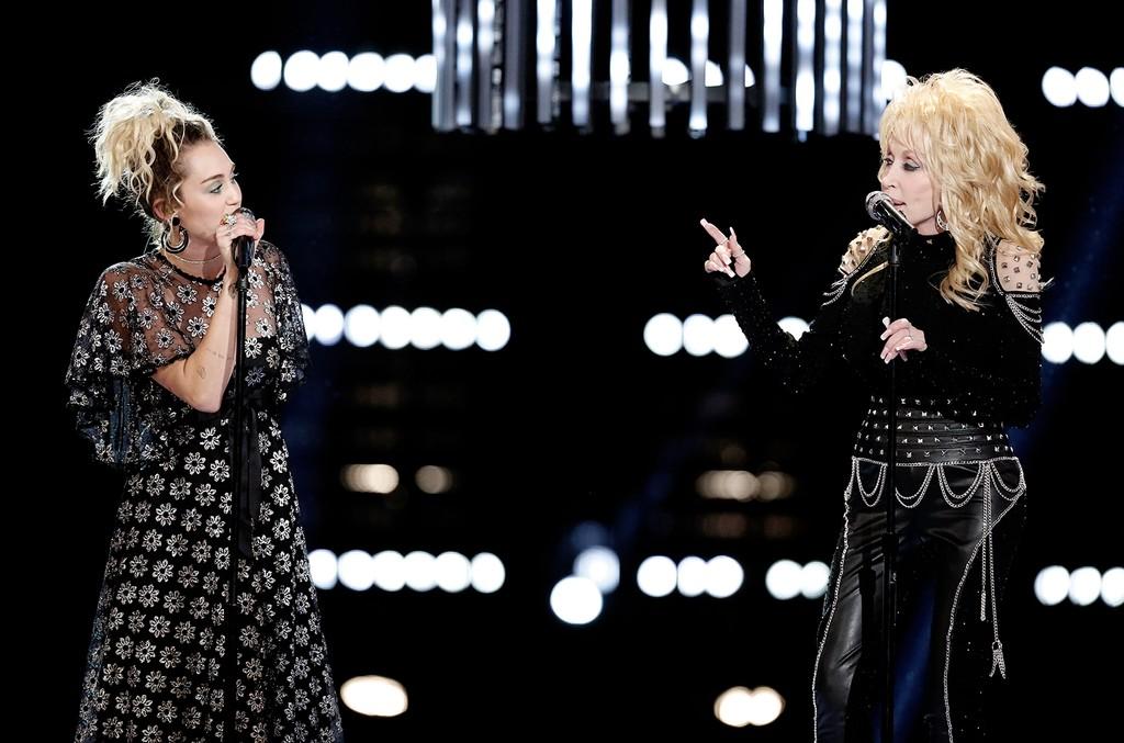 Miley Cyrus & Dolly Parton, 2016
