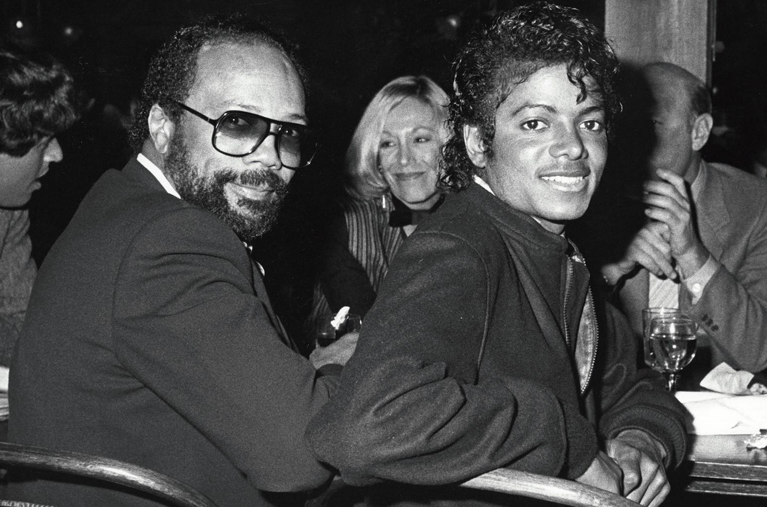Quincy Jones & Michael Jackson