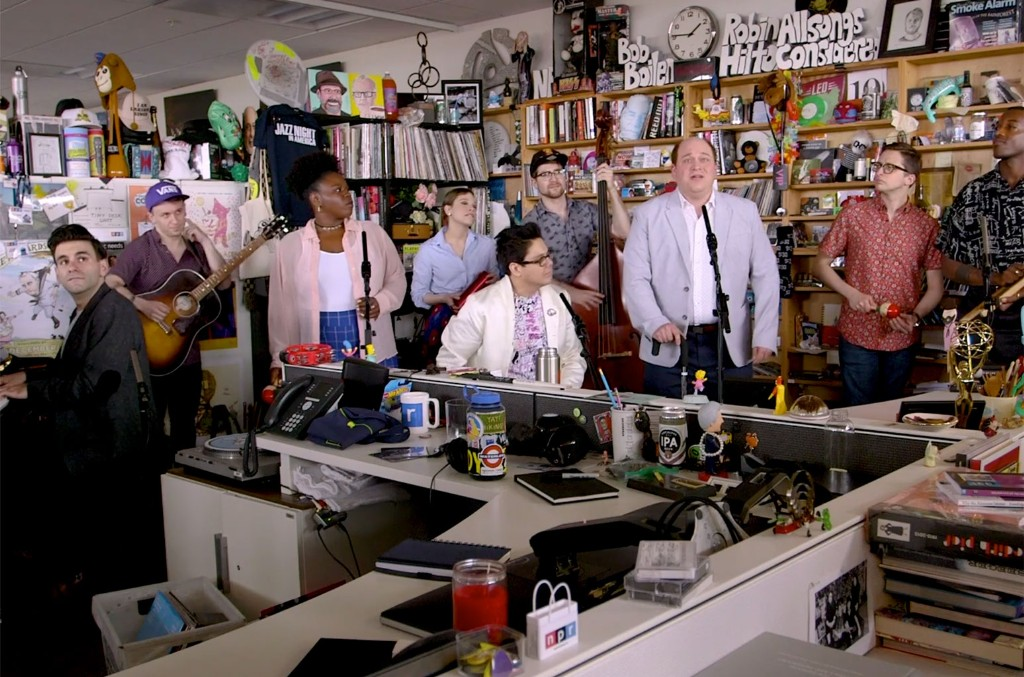 be more chill tiny desk
