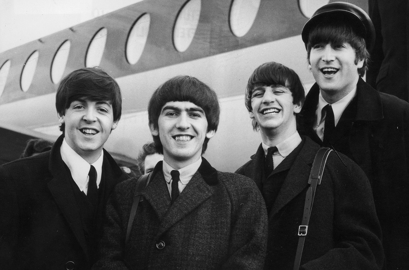 The Beatles photographed in 1964.