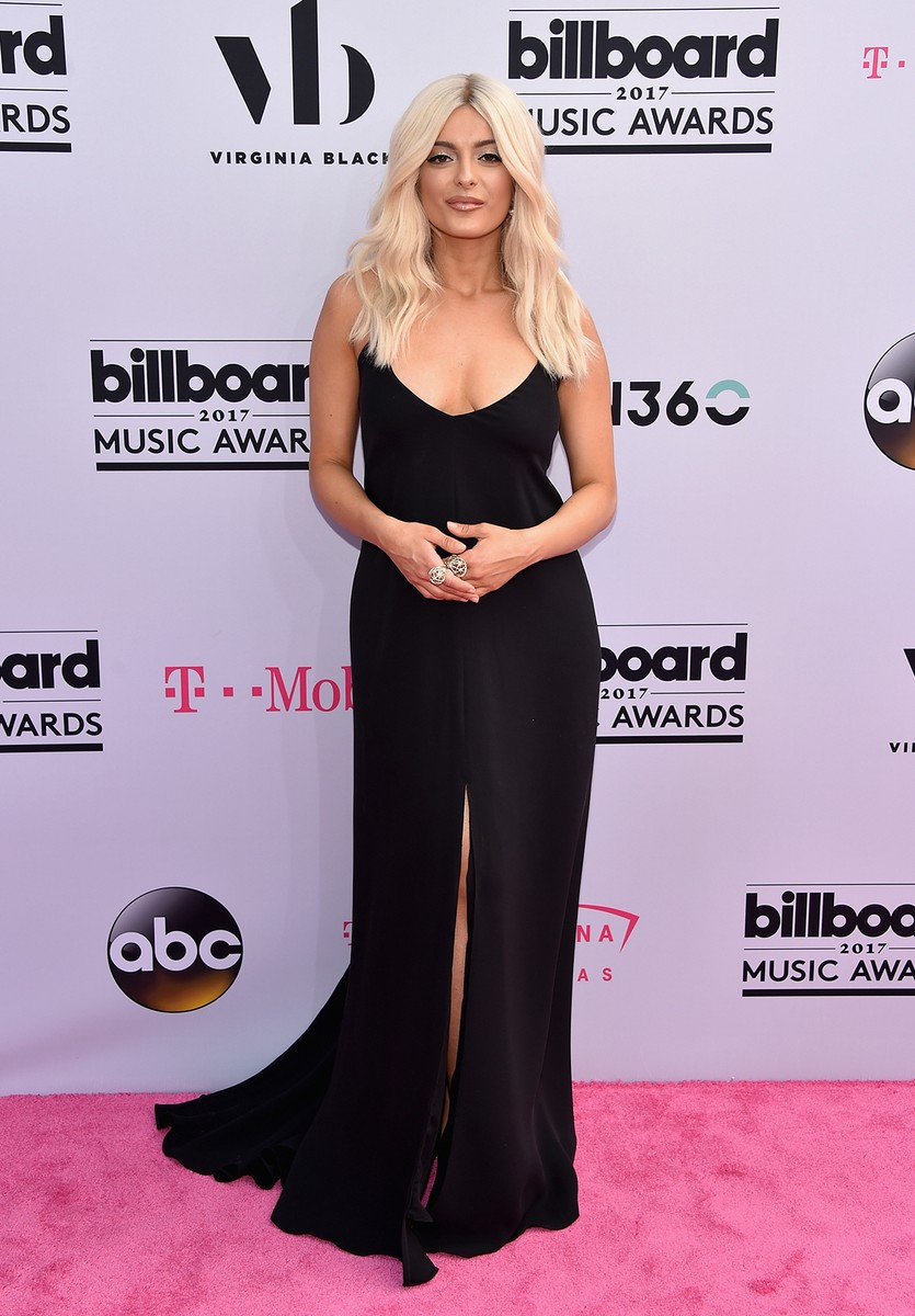 Bebe Rexha attends the 2017 Billboard Music Awards at T-Mobile Arena on May 21, 2017 in Las Vegas.