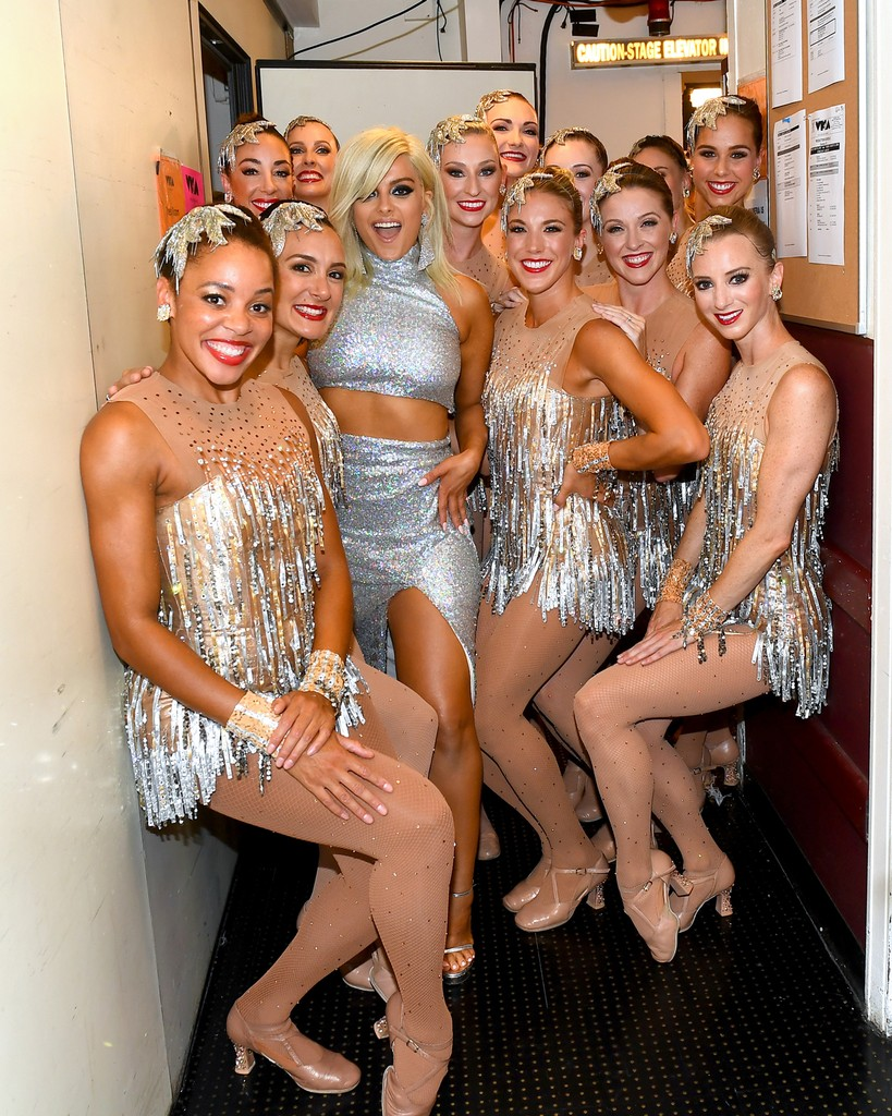 Bebe Rexha and The Rockettes