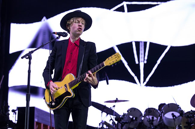 Beck at Firefly 2014.
