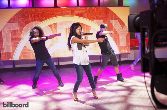A Day In The Life with Becky G on Aug 7, 2014