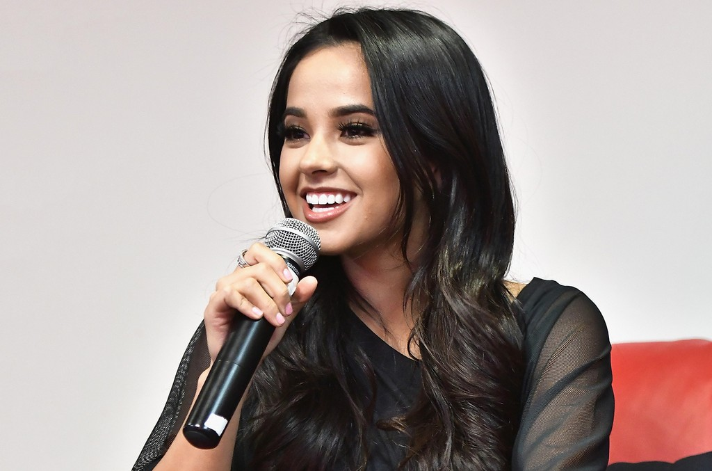 Becky G attends a fan event at Y100 on March 6, 2017 in Miramar, Fla.