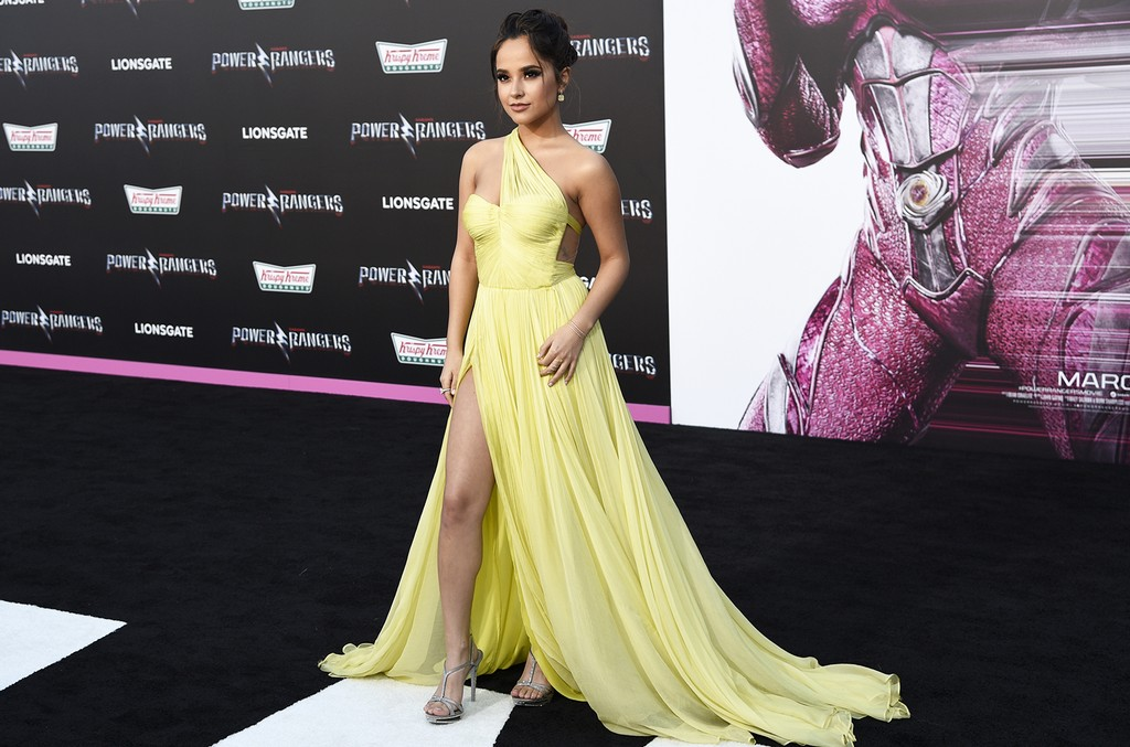 Becky G arrives at the Los Angeles premiere of Saban's Power Rangers at the Regency Westwood Village Theatre on March 22, 2017.