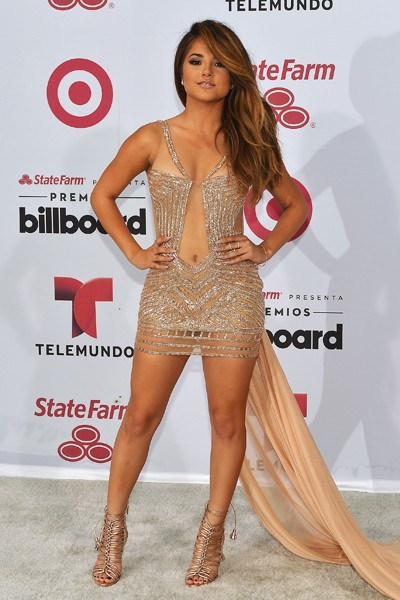 Becky G arrives at 2015 Billboard Latin Music Awards