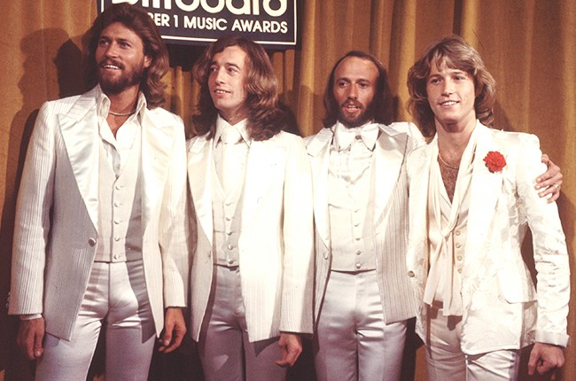 Bee Gees at the 1977 Billboard Music Awards