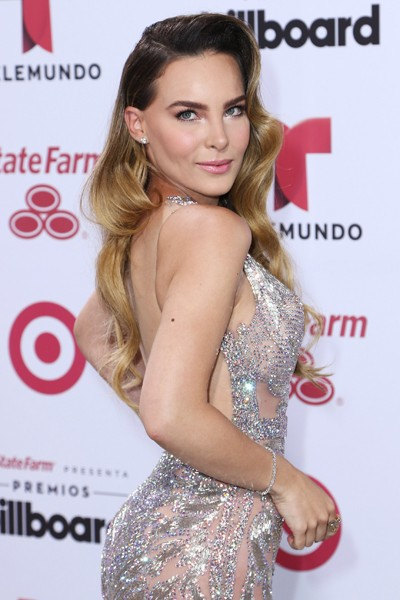 Belinda arrives at 2015 Billboard Latin Music Awards