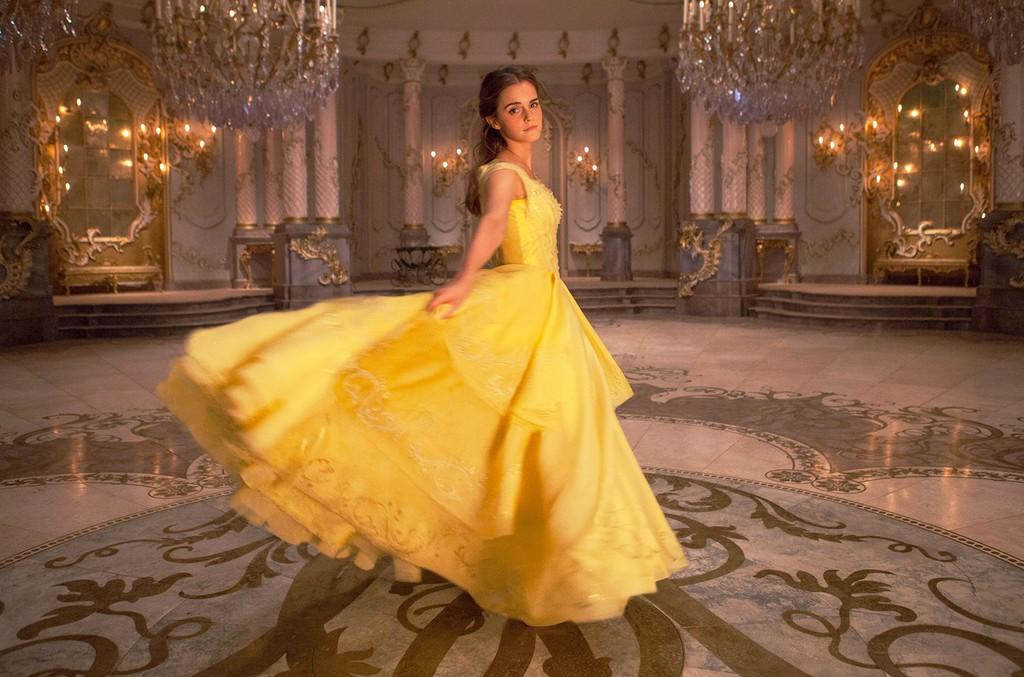 Emma Watson in Beauty and the Beast.