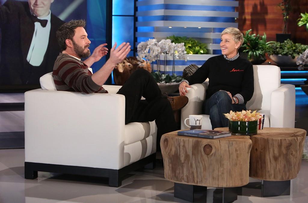 Ben Affleck on Ellen