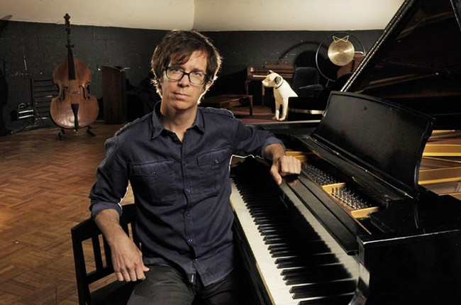 Ben Folds in Nashville Studio