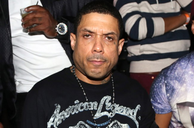Benzino attends the Baltimore Ravens Superbowl Victory Party at Greenhouse on February 12, 2013 in New York City.