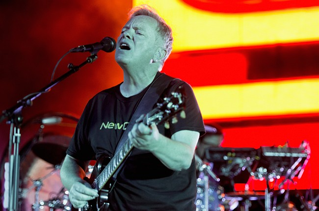 Bernard Sumner of New Order