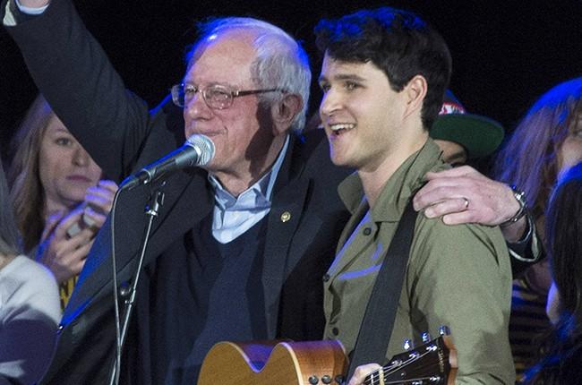 Bernie Sanders Ezra Koenig Vampire Weekend