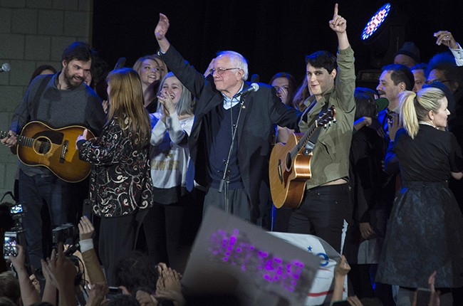 Bernie Sanders Vampire Weekend