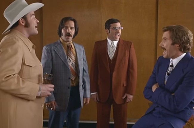 """Anchorman, """"Afternoon Delight"""""""