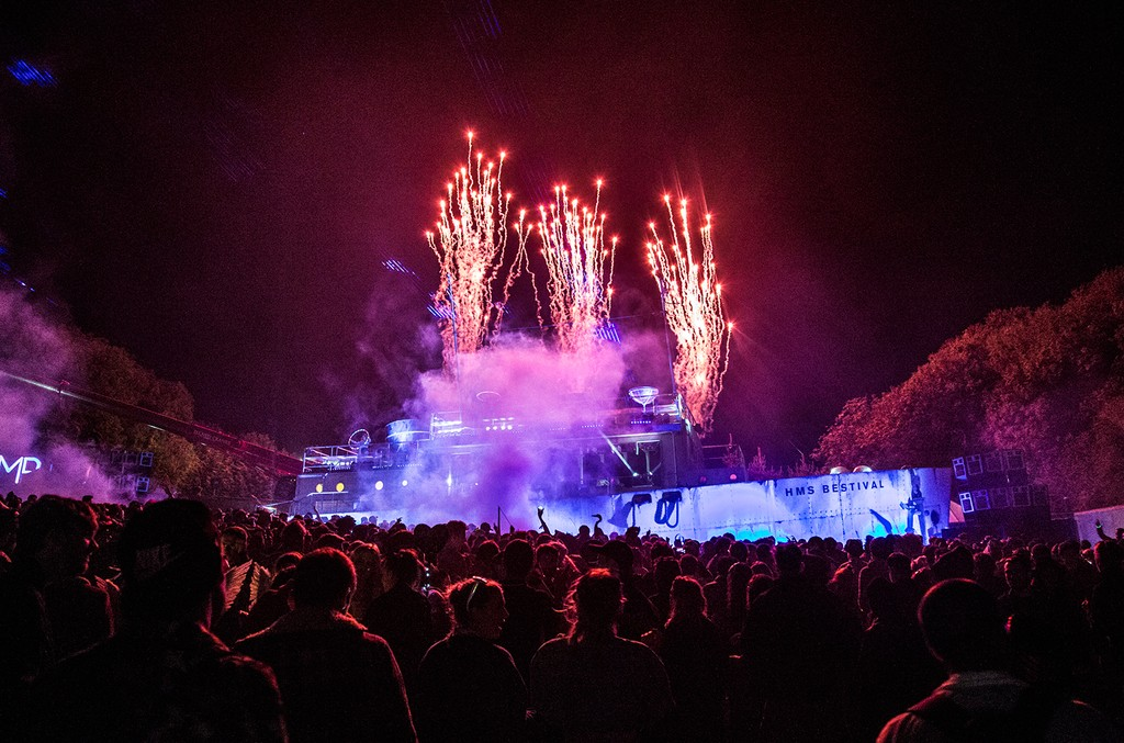 Atmosphere on day 3 of Bestival at Robin Hill Country Park on September 12, 2015 in Newport, Isle of Wight.