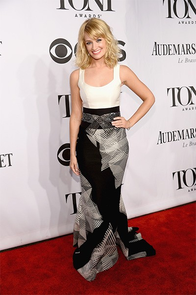 Beth Behrs attends the 68th Annual Tony Awards
