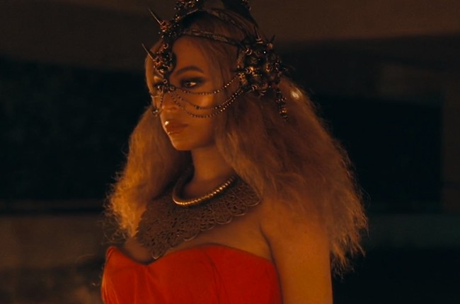 Beyonce in a still from the Lemonade visual album.